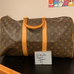 Vintage LV 45 Keepall. Beautiful condition